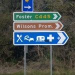 Signage on Sth Gippsland Hwy