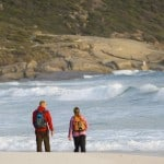 Wilsons Promontory hiking along beach
