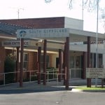 Foster Hospital entrance