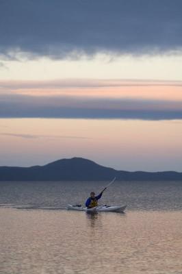 Wilsons Promontory kayaking sunset