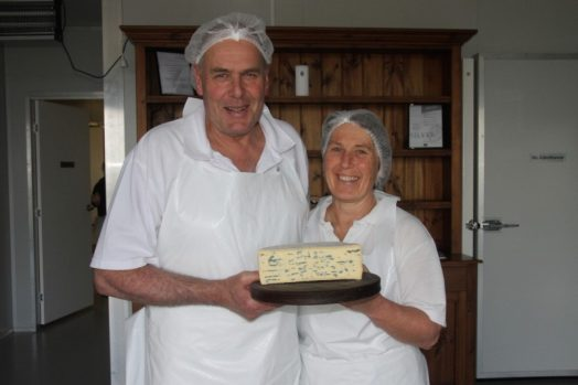 • Barry Charlton and Cheryl Hulls are thrilled to have had four of their products achieve great success at the recent 2016 World Cheese Awards held recently in San Sebastian, Spain.